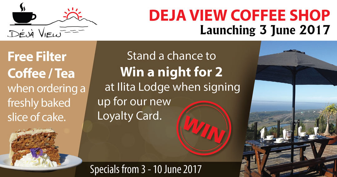 Ilita Lodge launches Deja View Coffee Shop